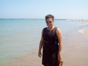 Me in Campello, Spain in 2008--a life-changing vacation.