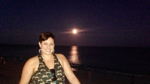 Me, basking in the Cabo San Lucas, Mexico moonlight in 2013.