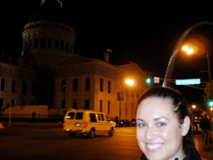 St. Louis, Missouri in 2010. Famous arch in the background.