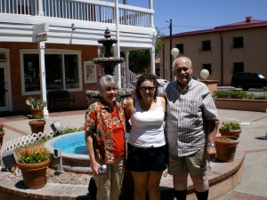 Albuquerque, New Mexico in 2007 with my grandparents.